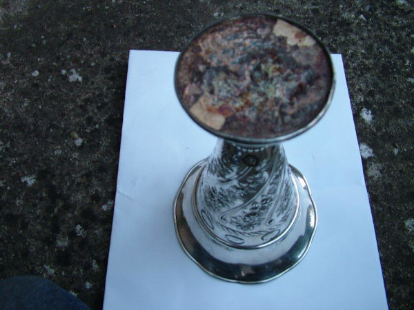 Vase repair before