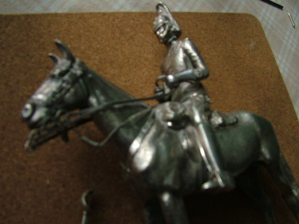 silver horse sword repair