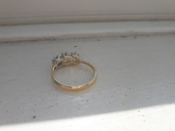 3 Stone ring after 1