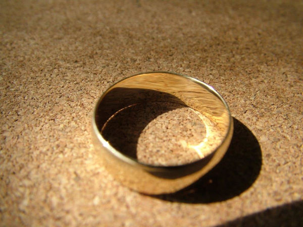 gold wedding ring repair after